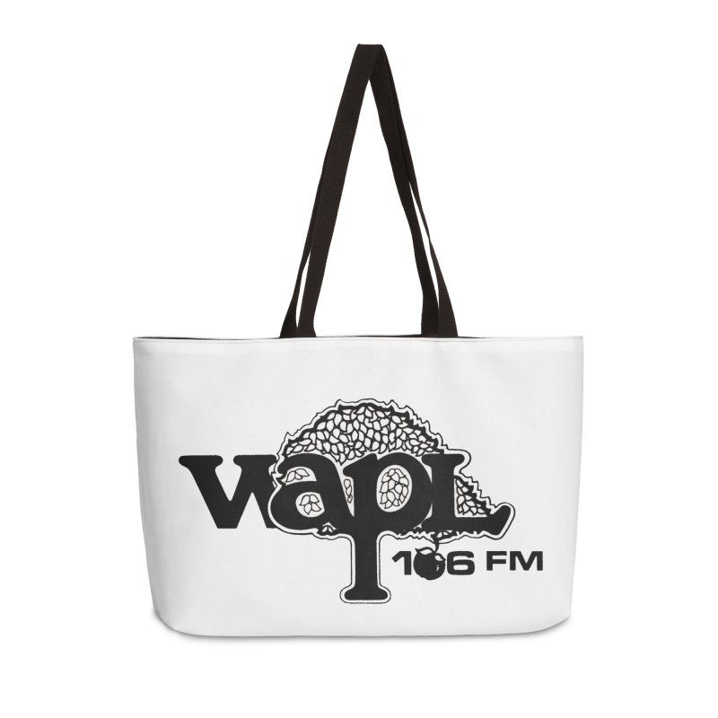 WAPL 80s 'Apple Tree' - Version 1 Accessories Weekender Bag Bag by 105.7 WAPL Web Store