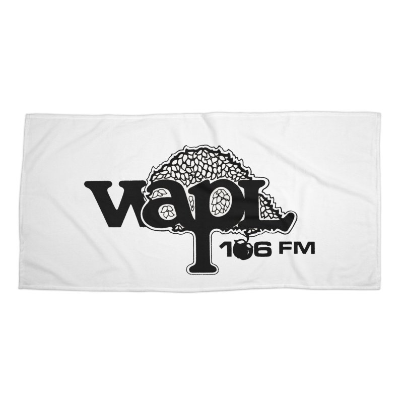 WAPL 80s 'Apple Tree' - Version 1 Accessories Beach Towel by 105.7 WAPL Web Store