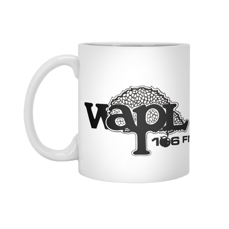 WAPL 80s 'Apple Tree' - Version 1 Accessories Standard Mug by 105.7 WAPL Web Store