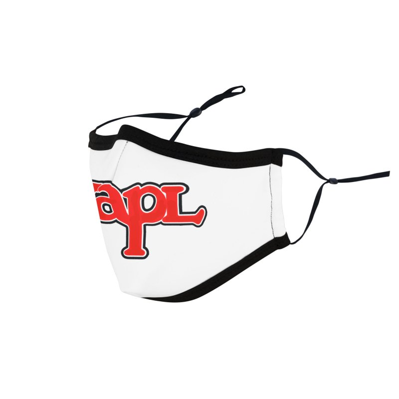 WAPL 80s [Call Letters Only] Accessories Face Mask by 105.7 WAPL Store