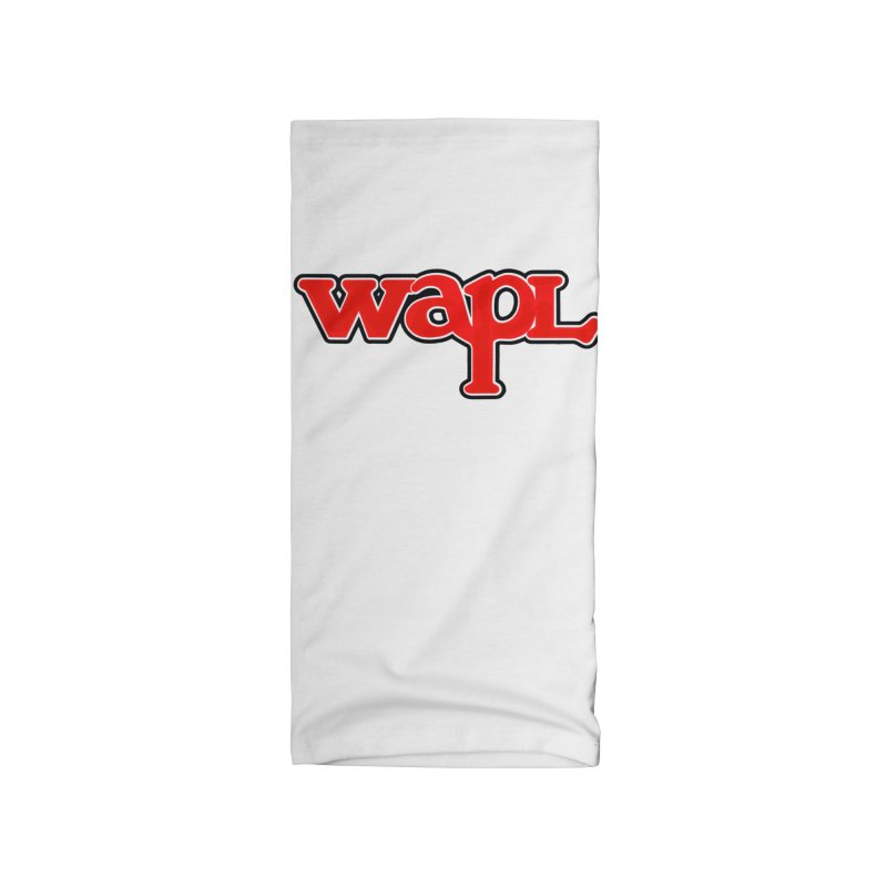WAPL 80s [Call Letters Only] Accessories Neck Gaiter by 105.7 WAPL Store