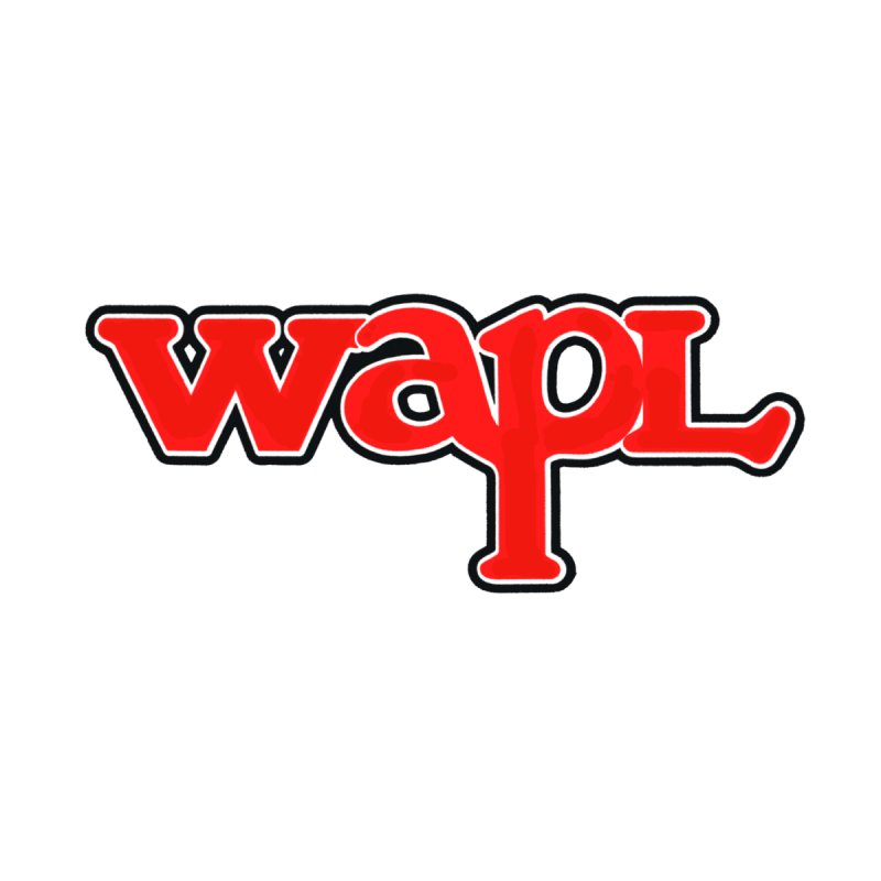 WAPL 80s [Call Letters Only] Men's Longsleeve T-Shirt by 105.7 WAPL Store