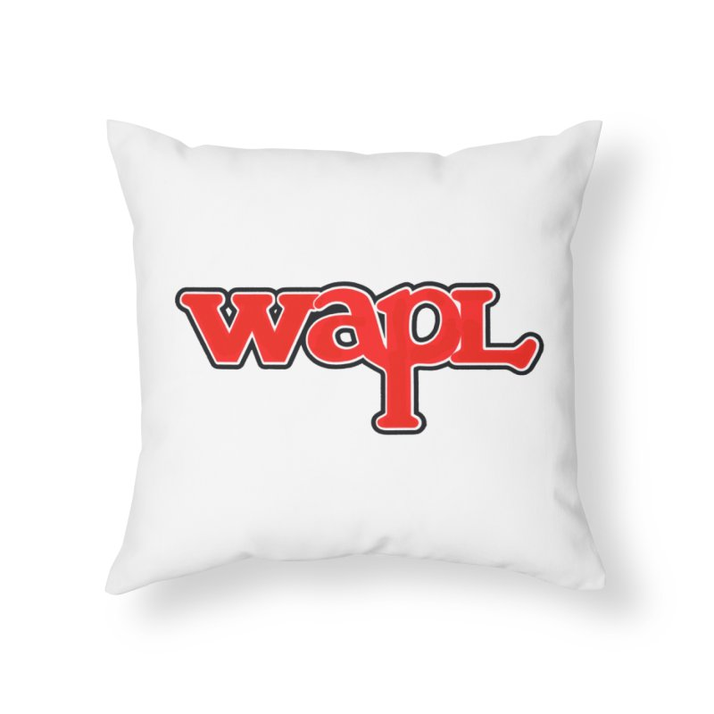 WAPL 80s [Call Letters Only] Home Throw Pillow by 105.7 WAPL Web Store