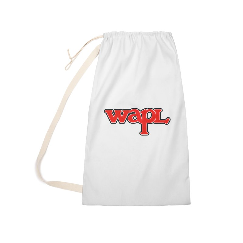 WAPL 80s [Call Letters Only] Accessories Bag by 105.7 WAPL Store