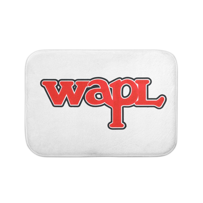 WAPL 80s [Call Letters Only] Home Bath Mat by 105.7 WAPL Web Store