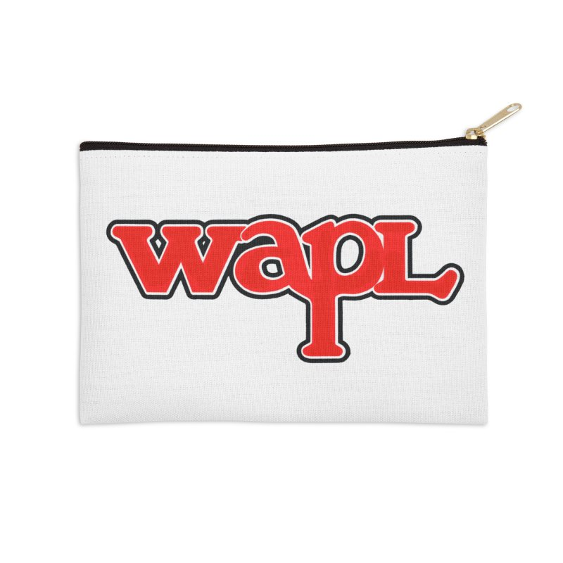 WAPL 80s [Call Letters Only] Accessories Zip Pouch by 105.7 WAPL Web Store