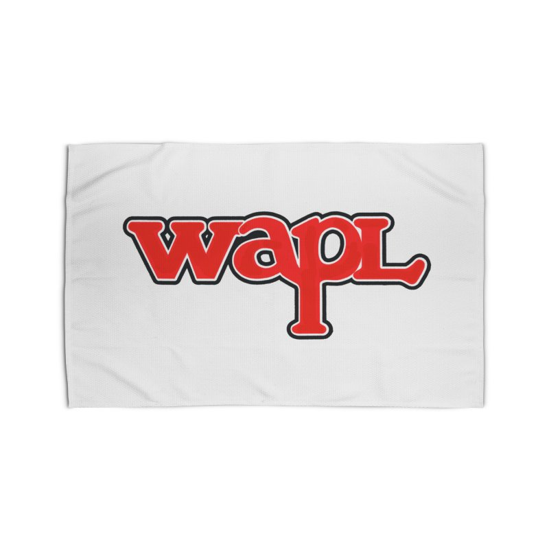 WAPL 80s [Call Letters Only] Home Rug by 105.7 WAPL Web Store