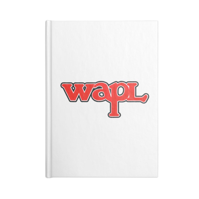 WAPL 80s [Call Letters Only] Accessories Notebook by 105.7 WAPL Store