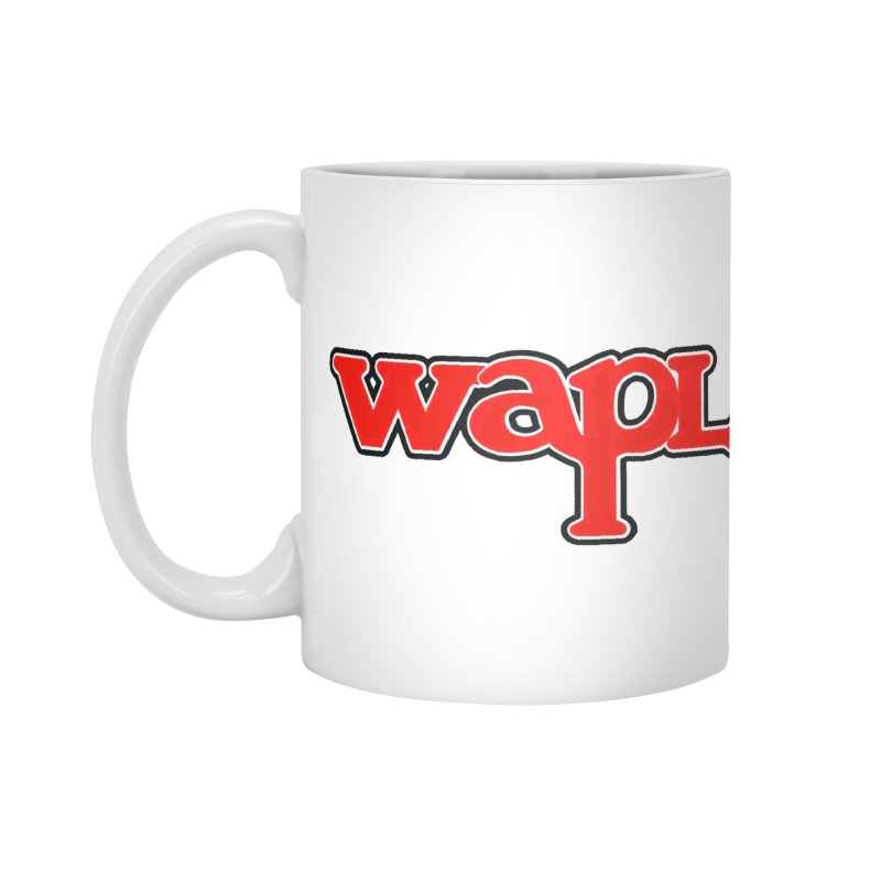 WAPL 80s [Call Letters Only] Accessories Standard Mug by 105.7 WAPL Web Store