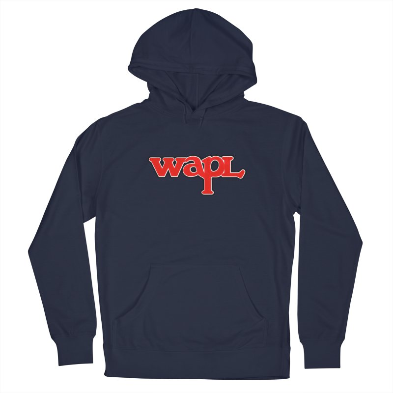 WAPL 80s [Call Letters Only] Men's Pullover Hoody by 105.7 WAPL Store
