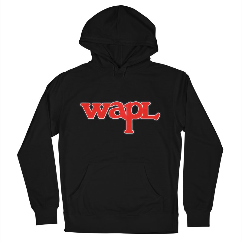 WAPL 80s [Call Letters Only] Women's French Terry Pullover Hoody by 105.7 WAPL Web Store
