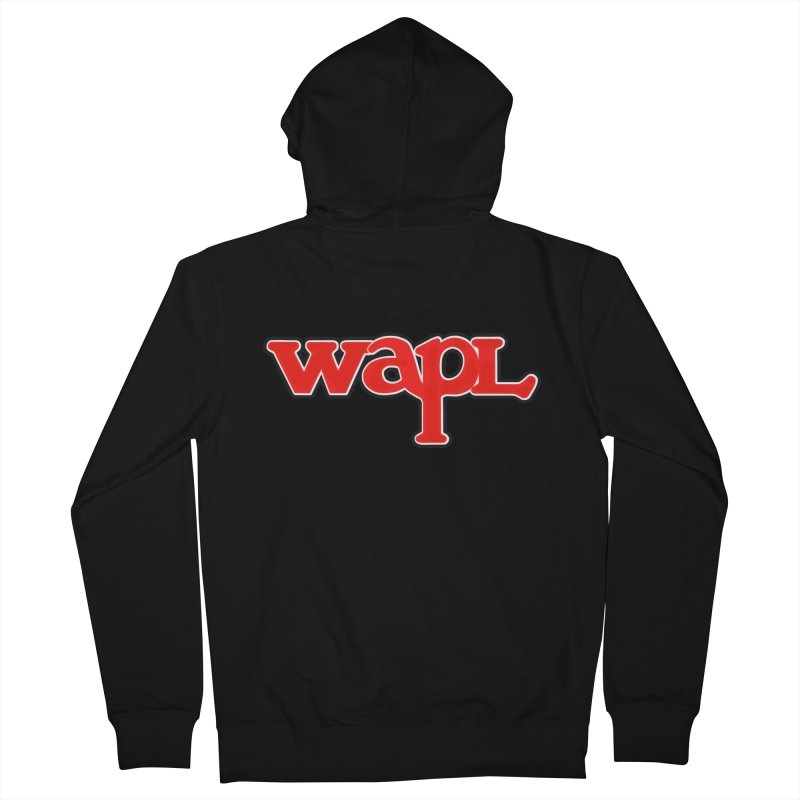WAPL 80s [Call Letters Only] Women's Zip-Up Hoody by 105.7 WAPL Store