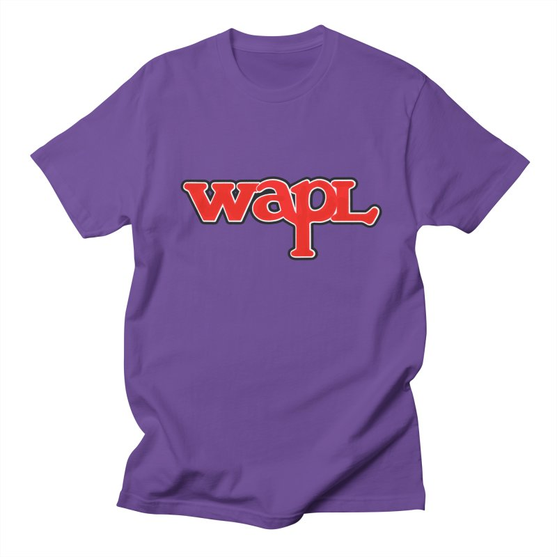 WAPL 80s [Call Letters Only] Men's Regular T-Shirt by 105.7 WAPL Web Store