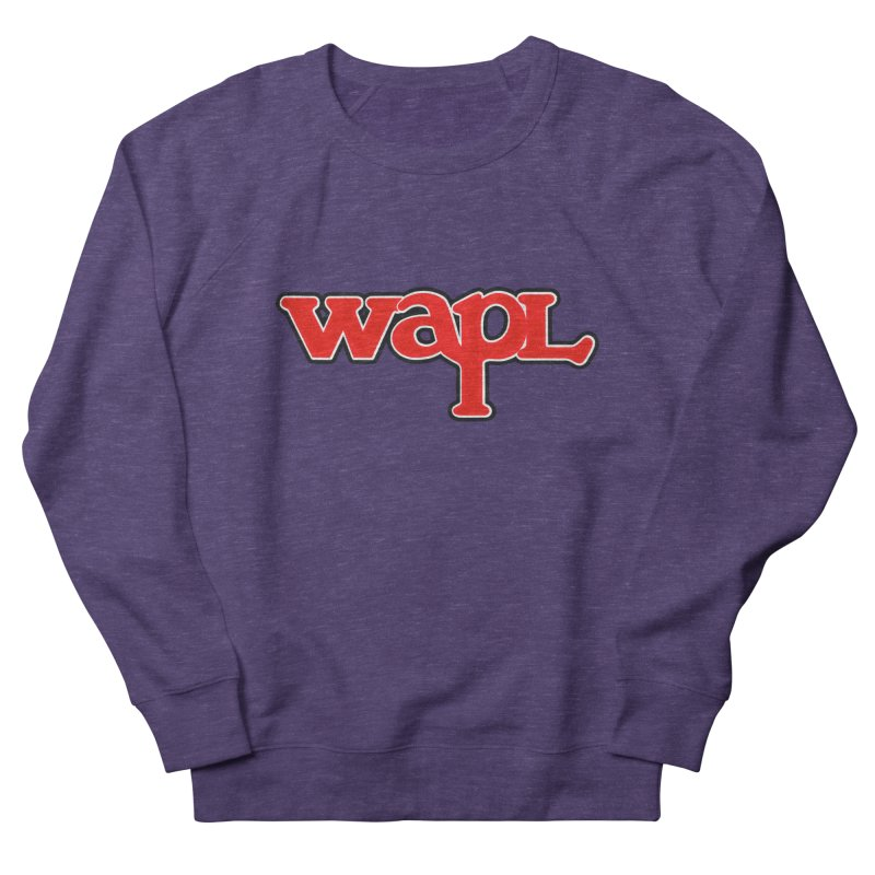 WAPL 80s [Call Letters Only] Men's French Terry Sweatshirt by 105.7 WAPL Web Store