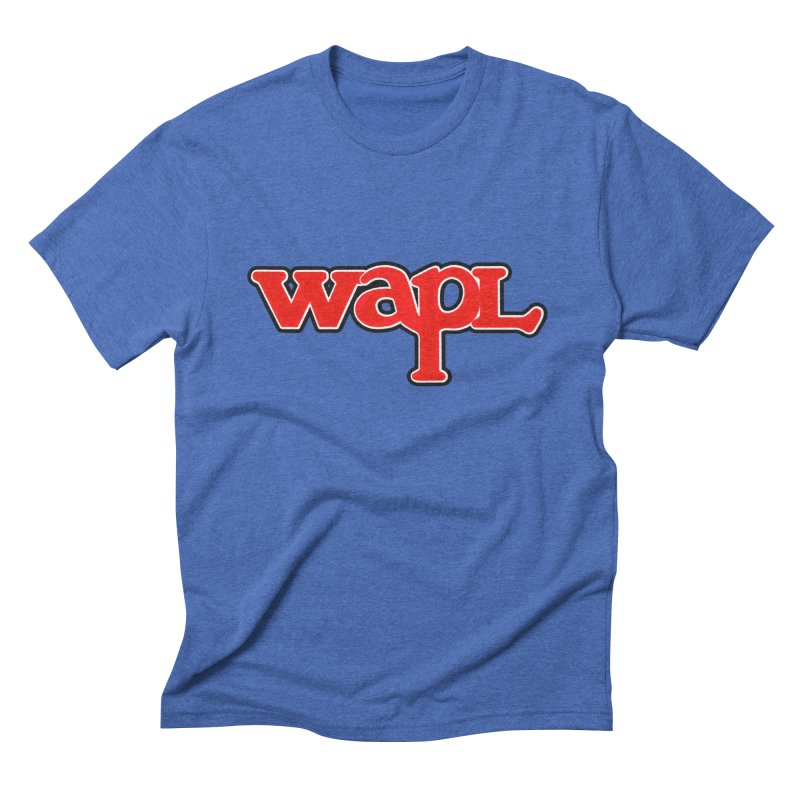 WAPL 80s [Call Letters Only] Men's T-Shirt by 105.7 WAPL Store