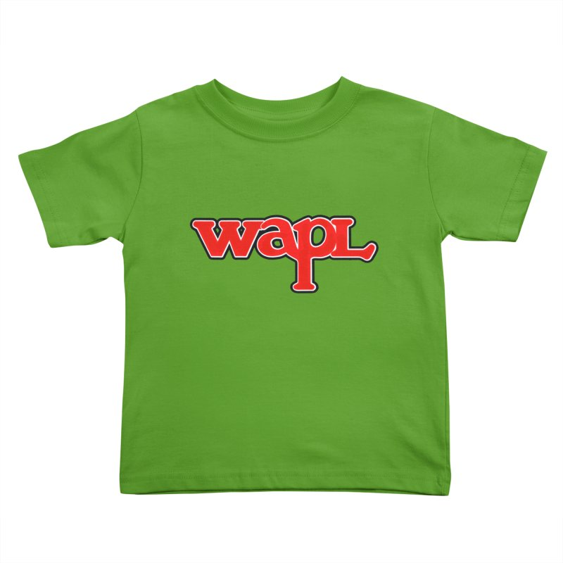 WAPL 80s [Call Letters Only] Kids Toddler T-Shirt by 105.7 WAPL Store
