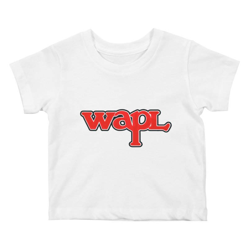 WAPL 80s [Call Letters Only] Kids Baby T-Shirt by 105.7 WAPL Web Store