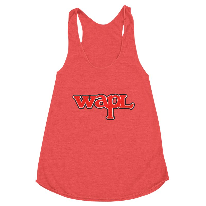 WAPL 80s [Call Letters Only] Women's Tank by 105.7 WAPL Store