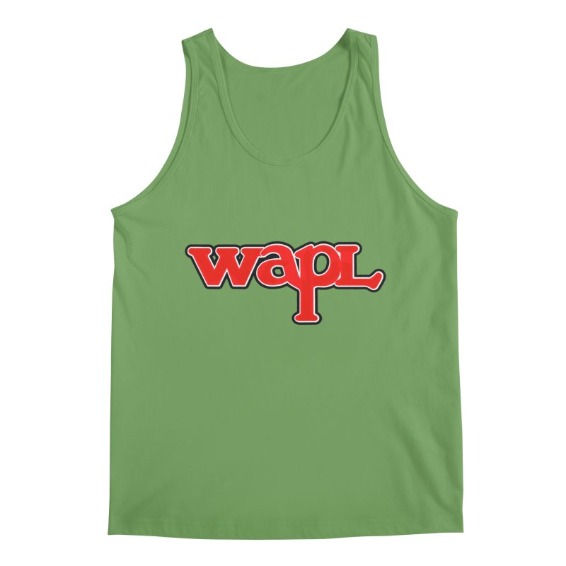 WAPL 80s [Call Letters Only] Men's Tank by 105.7 WAPL Store