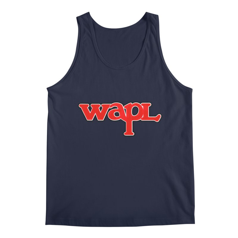 WAPL 80s [Call Letters Only] Men's Regular Tank by 105.7 WAPL Web Store