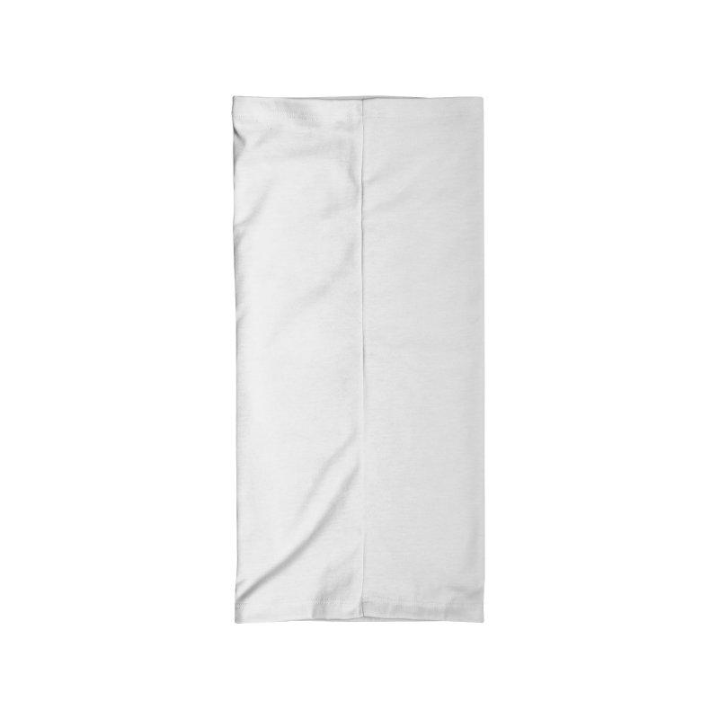WAPL Horizontal Logo [Black Lettering] Accessories Neck Gaiter by 105.7 WAPL Store
