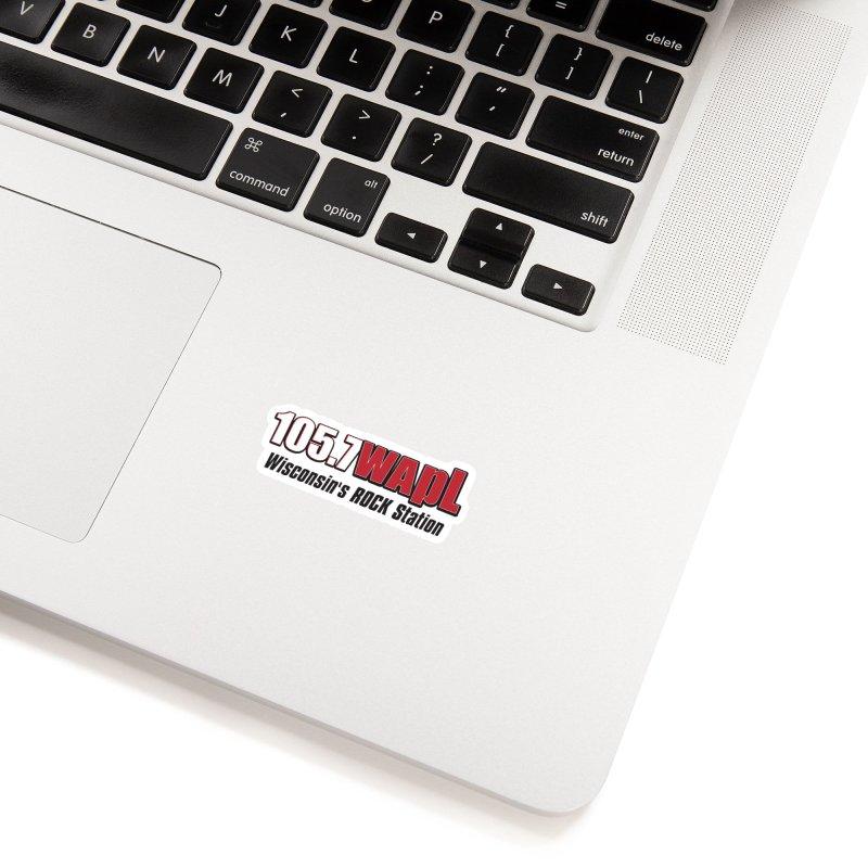WAPL Horizontal Logo [Black Lettering] Accessories Sticker by 105.7 WAPL Store