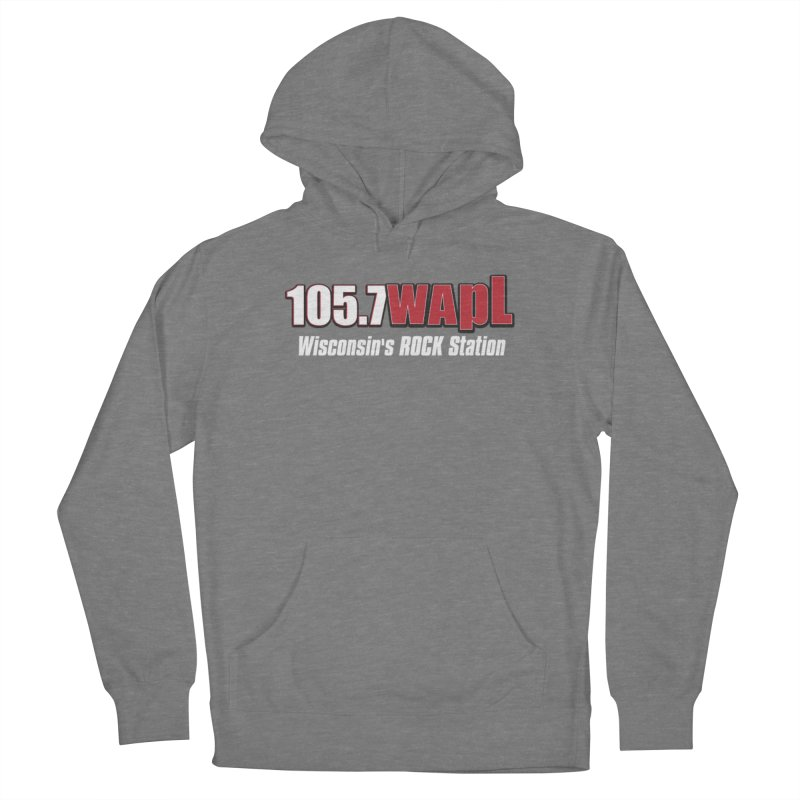 WAPL Horizontal Logo (White Lettering) Women's Pullover Hoody by 105.7 WAPL Store