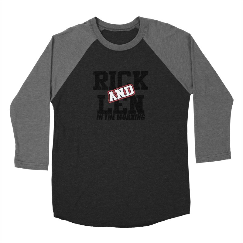 Rick & Len in the Morning [Version 1] Women's Baseball Triblend Longsleeve T-Shirt by 105.7 WAPL Web Store