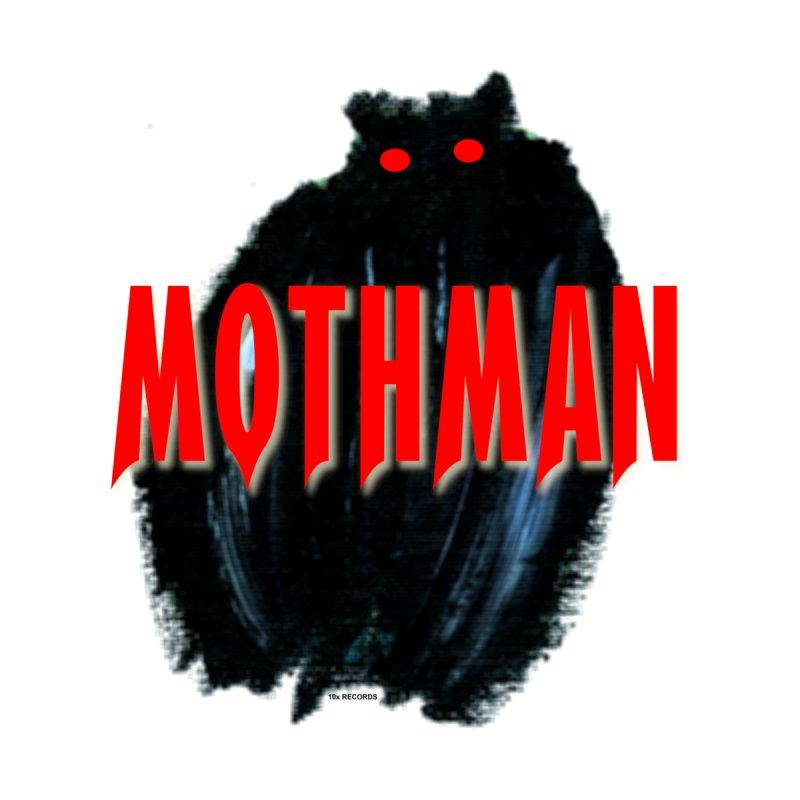 10x Records 2004 Mothman Logo Men's T-Shirt by The 10x Records Emporium