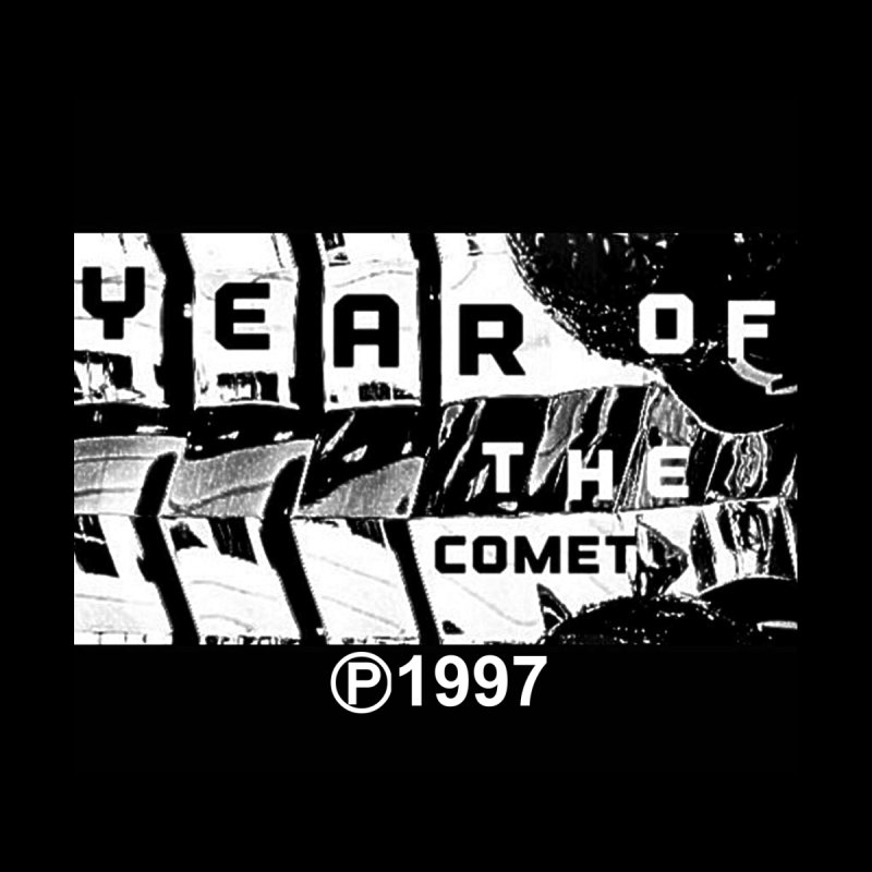 Year of the Comet 20th Logo By Dave Grind T-shirt Men's T-Shirt by The 10x Records Emporium