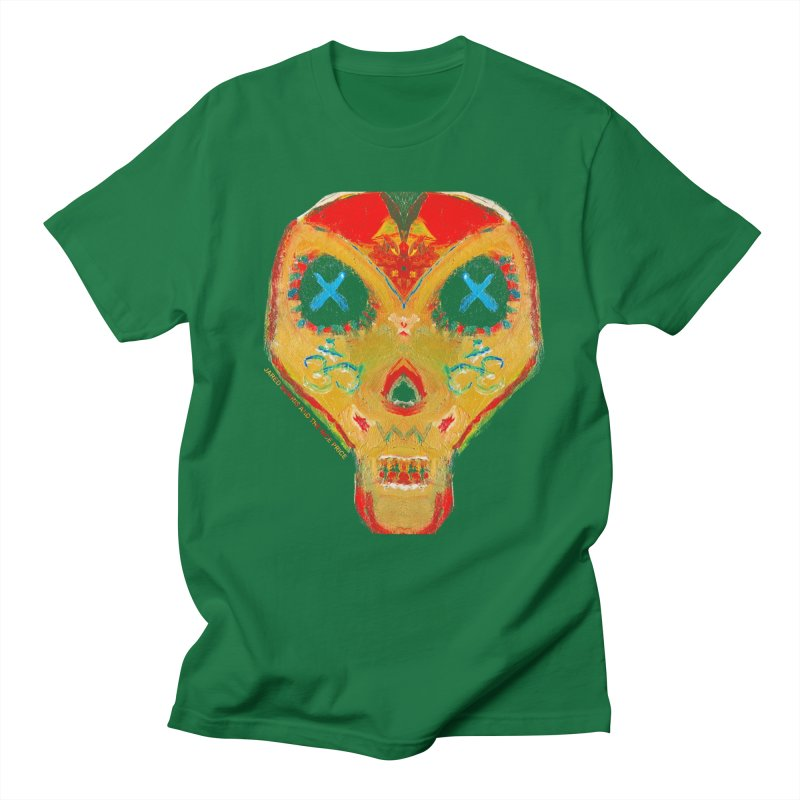 Sugar Skull Oil Paint, Jared Morris and the Nice Price Men's T-Shirt by The 10x Records Emporium