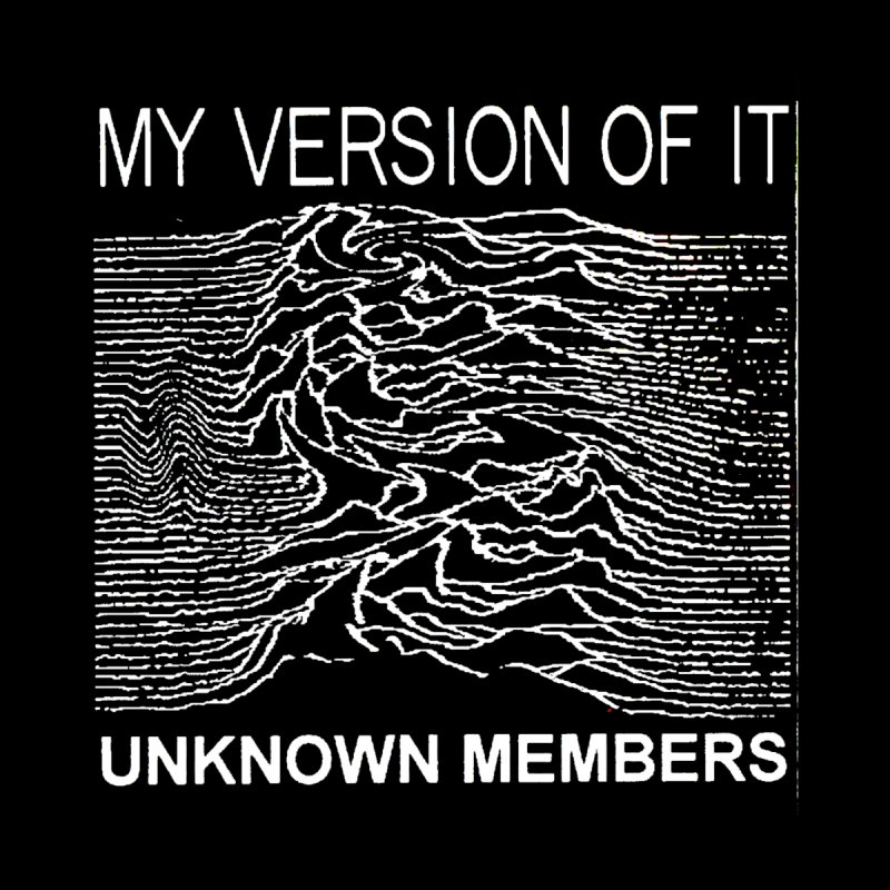 """Unknown Members, Vintage My Version of It 7"""" T-Shirt Men's T-Shirt by The 10x Records Emporium"""