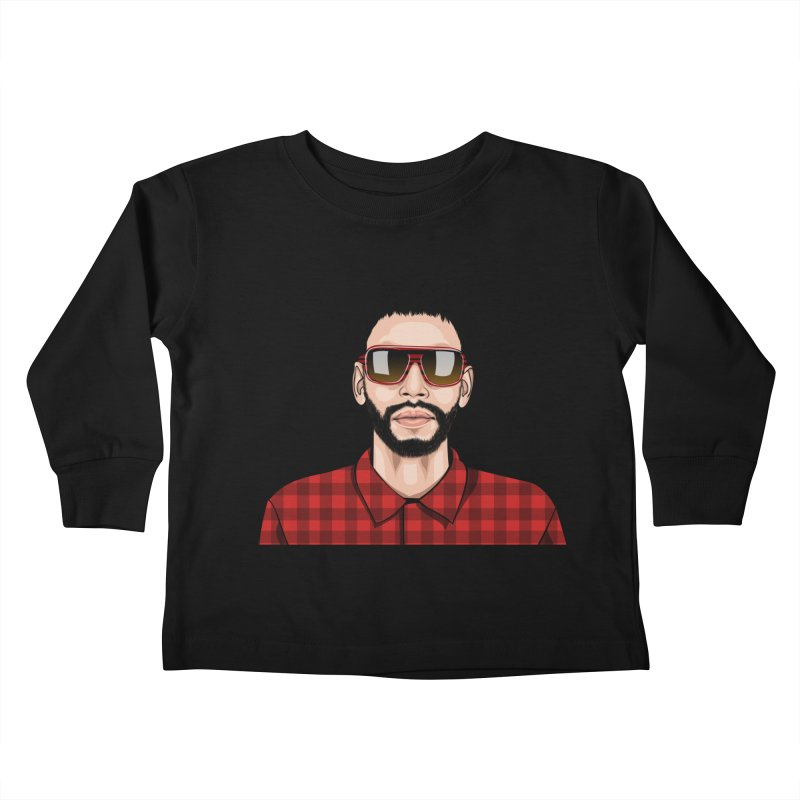 POP Kids Toddler Longsleeve T-Shirt by 1111cr3w's Artist Shop