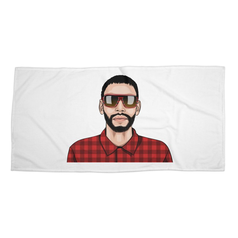 POP Accessories Beach Towel by 1111cr3w's Artist Shop