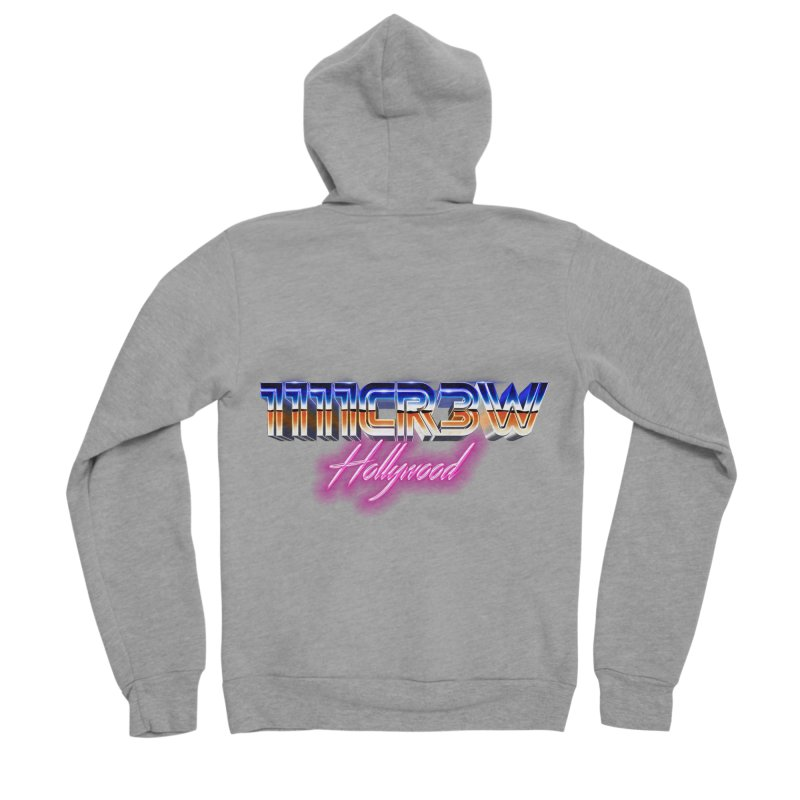 1111 Hollywood Men's Sponge Fleece Zip-Up Hoody by 1111cr3w's Artist Shop