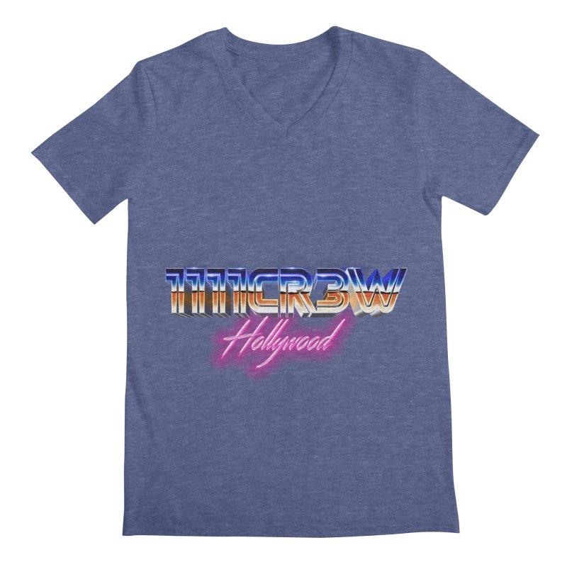 1111 Hollywood Men's Regular V-Neck by 1111cr3w's Artist Shop