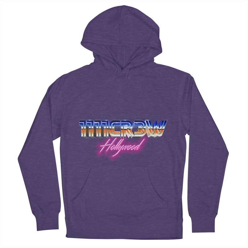 1111 Hollywood Women's French Terry Pullover Hoody by 1111cr3w's Artist Shop