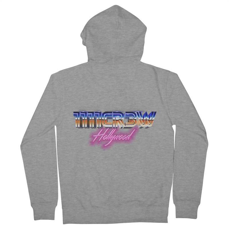 1111 Hollywood Women's French Terry Zip-Up Hoody by 1111cr3w's Artist Shop