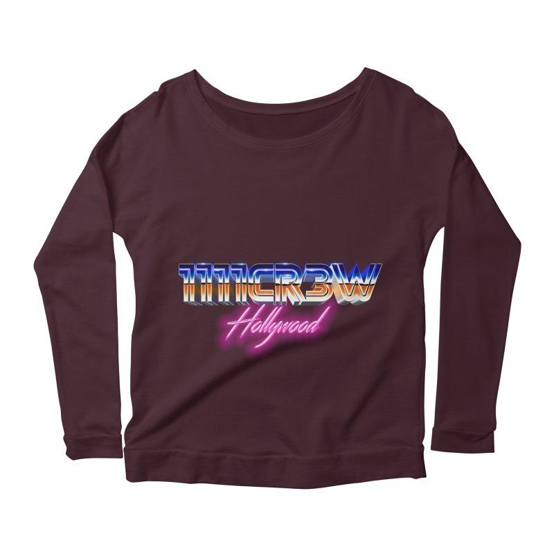 1111 Hollywood Women's Longsleeve Scoopneck  by 1111cr3w's Artist Shop