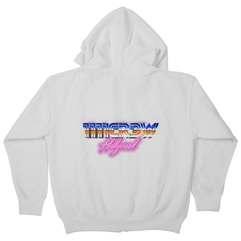 1111 Hollywood Kids Zip-Up Hoody by 1111cr3w's Artist Shop