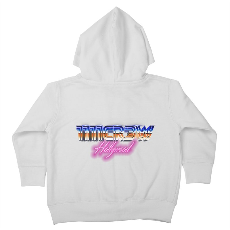 1111 Hollywood Kids Toddler Zip-Up Hoody by 1111cr3w's Artist Shop