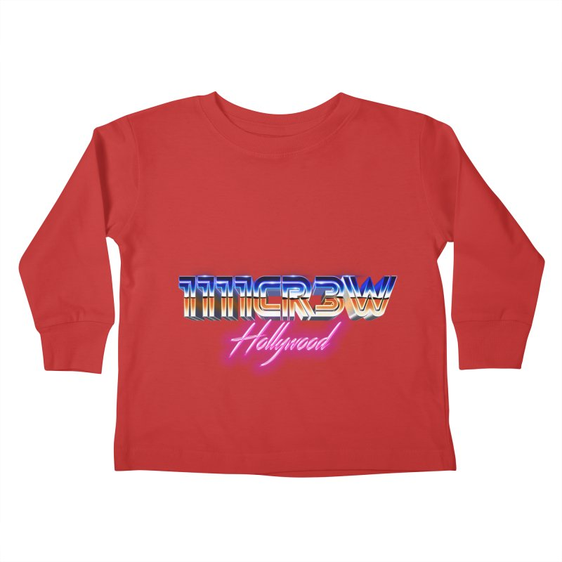 1111 Hollywood Kids Toddler Longsleeve T-Shirt by 1111cr3w's Artist Shop