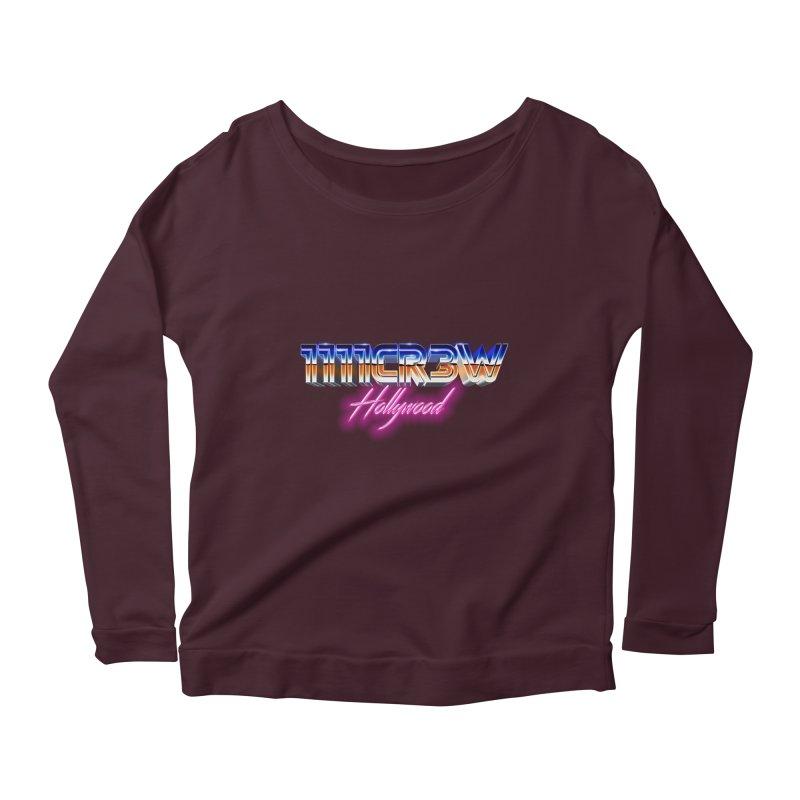 1111 Hollywood Women's Scoop Neck Longsleeve T-Shirt by 1111cr3w's Artist Shop