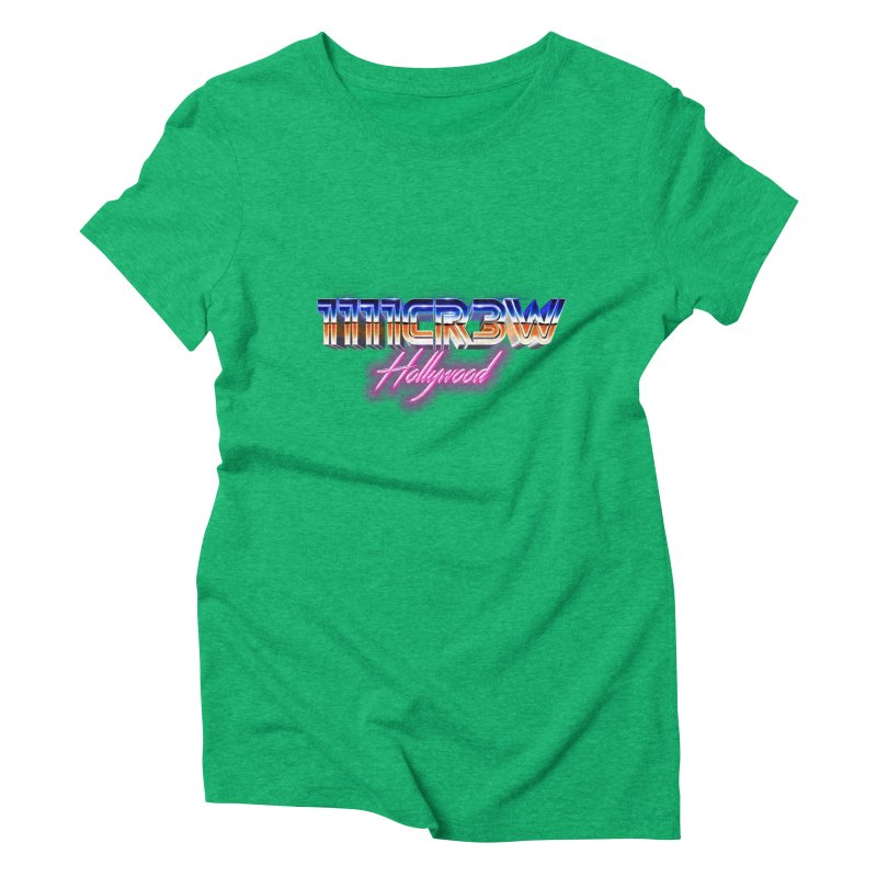 1111 Hollywood Women's Triblend T-Shirt by 1111cr3w's Artist Shop