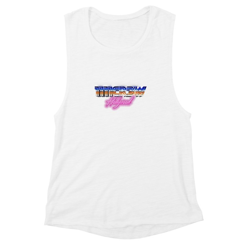1111 Hollywood Women's Muscle Tank by 1111cr3w's Artist Shop