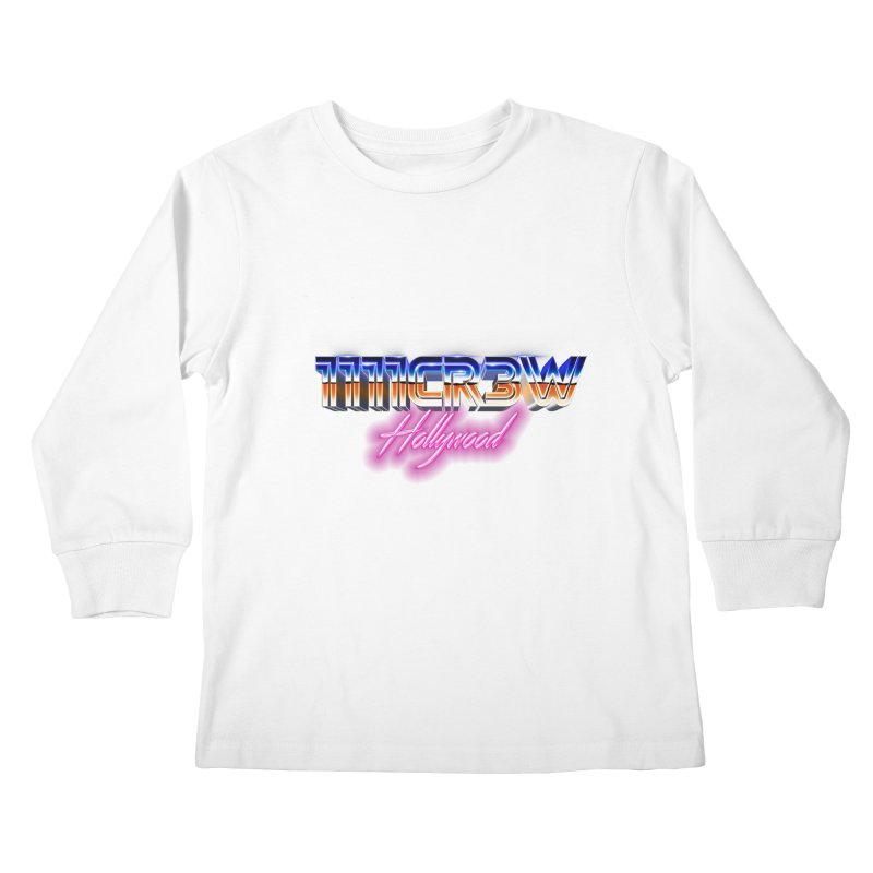 1111 Hollywood Kids Longsleeve T-Shirt by 1111cr3w's Artist Shop