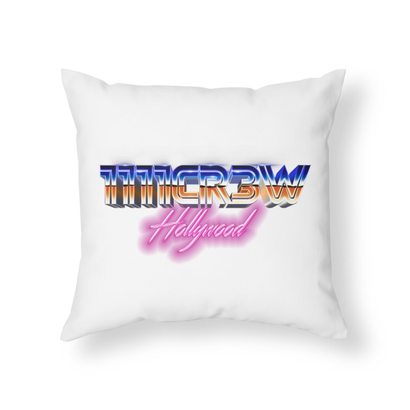 1111 Hollywood Home Throw Pillow by 1111cr3w's Artist Shop
