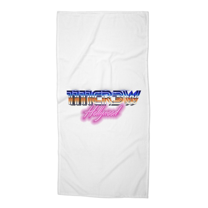 1111 Hollywood Accessories Beach Towel by 1111cr3w's Artist Shop