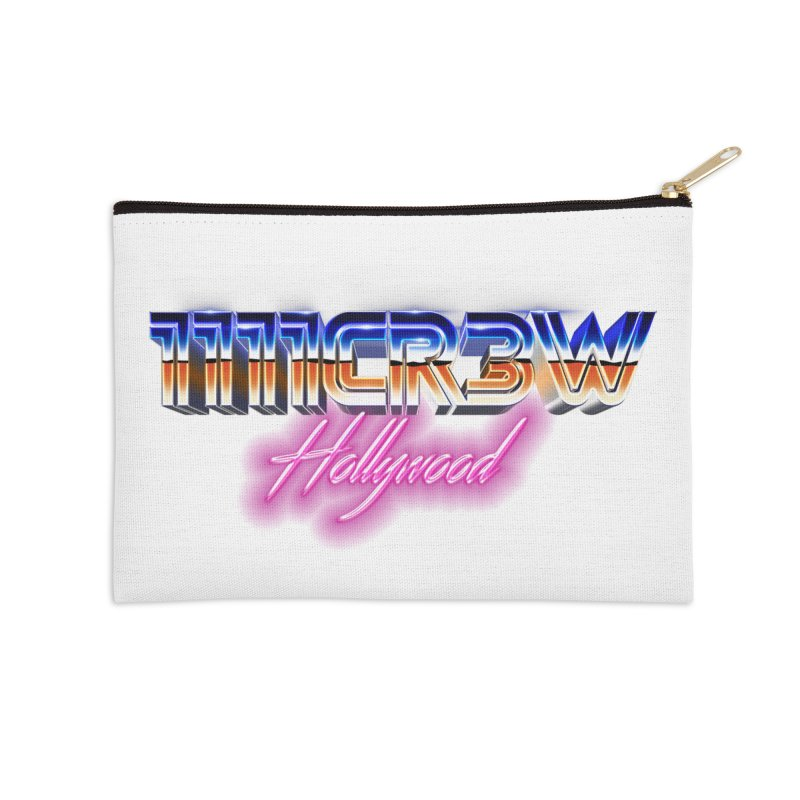 1111 Hollywood Accessories Zip Pouch by 1111cr3w's Artist Shop