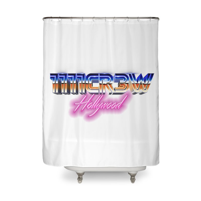 1111 Hollywood Home Shower Curtain by 1111cr3w's Artist Shop